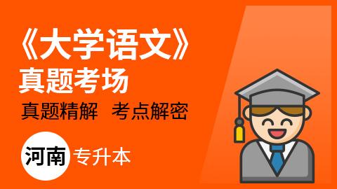 河南专升本大学语文真题考场