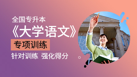 全国统招专升本大学语文专项训练试题