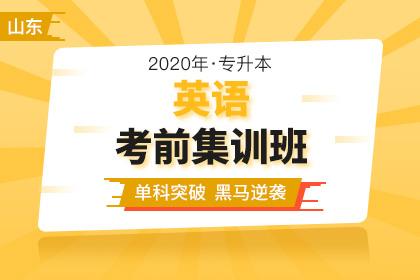 2020年山东专升本英语考前集训班