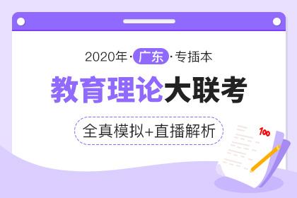 2020年广东专插本全真模拟联考·教育理论