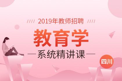 2019年四川教师招聘教育学系统精讲课
