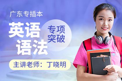 广东专插本英语语法专项突破