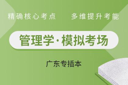 广东专插本管理学试题模拟考场